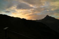 Abendstimmung in den Allgäuer Alpen