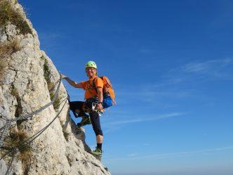 Klettersteig Comer See : Klettersteig u entspannung am berg
